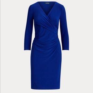 Polo by Ralph Lauren Royal Blue Wrap Dress